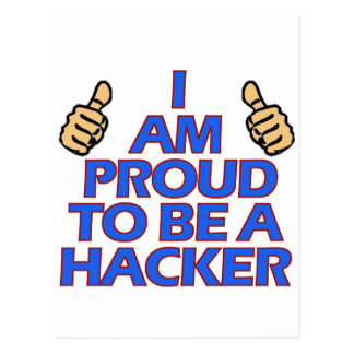 cool Hacker designs Postcard