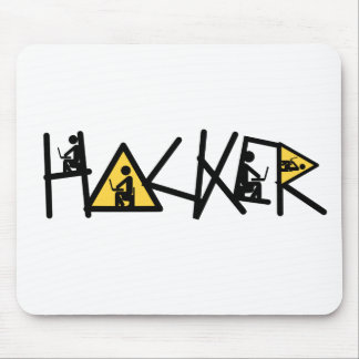 Cool Hacker Mouse Pad