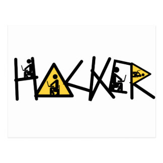 Cool Hacker Postcard