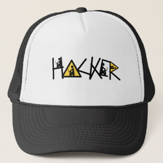 Cool Hacker Trucker Hat