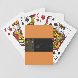 cool halloween poker cards
