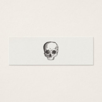 Cool Hand Drawn Rustic Skull Calling Card
