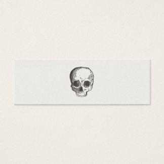 Cool Hand Drawn Rustic Skull Calling Card