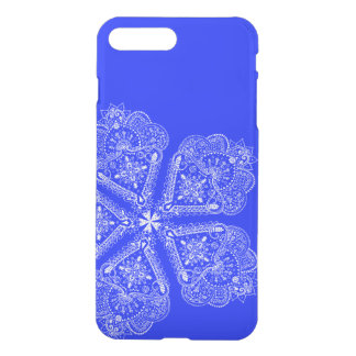 Cool Hand Illustrated Artsy Floral Boho Flower iPhone 7 Plus Case