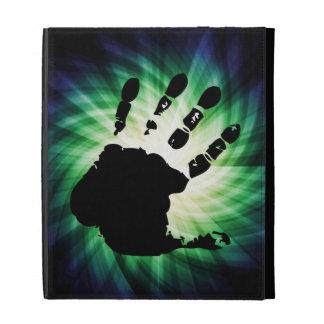 Cool Hand Print; Handprint iPad Folio Covers