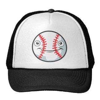 Cool Happy Baseball Sports Cartoon Mesh Hat