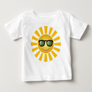 Cool Happy Sun Baby T-Shirt