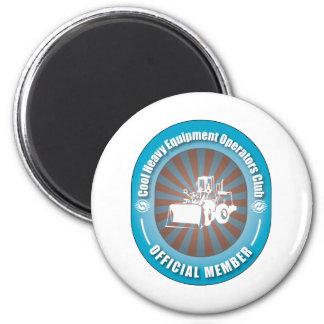 Cool Heavy Equipment Operators Club Fridge Magnet