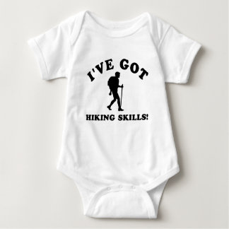 COOL HIKING SKILLS DESIGNS BABY BODYSUIT