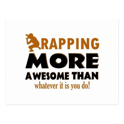 Cool Hip hop designs Postcard