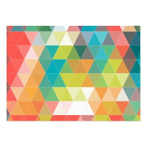 Cool Hipster Pattern Business Card Templates