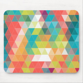Cool Hipster Pattern Mouse Pad