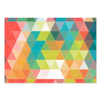 Cool Hipster Pattern Pack Of Chubby Business Cards
