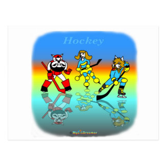 Cool hockey gifts for kids postcard