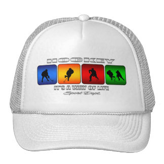 Cool Hockey It Is A Way Of Life Cap