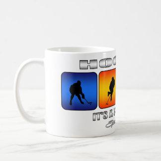 Cool Hockey It Is A Way Of Life Coffee Mug