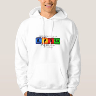 Cool Hockey It Is A Way Of Life Hoodie