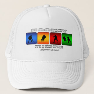 Cool Hockey It Is A Way Of Life Trucker Hat