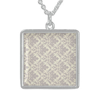 Cool Honorable Kind Accomplish Square Pendant Necklace