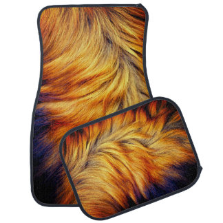Cool horse tail fur texture trendy design car mat