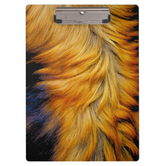 Cool horse tail fur texture trendy design clipboard