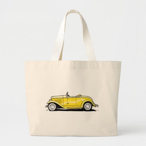 Cool Hot Rod Convertible Tote Bags