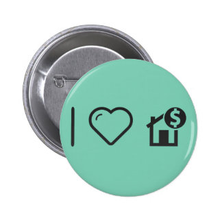 Cool House Finance 6 Cm Round Badge
