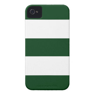 Cool Hunter Green & White iPhone Case Gift iPhone 4 Cover