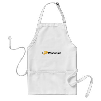 Cool I Cheese Wisconsin I Love Wisconsin design Apron