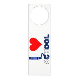 Cool ! I love school Door Hanger