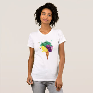 Cool Ice Cream 3 Scoops! American Apparel T-Shirt