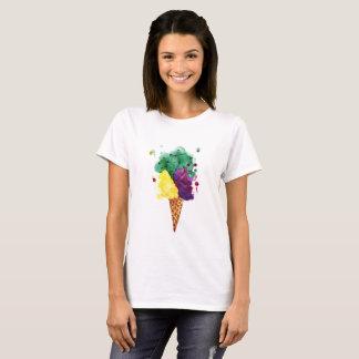 Cool Ice Cream 3 Scoops! Basic T-Shirt