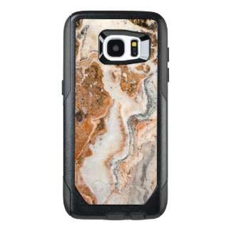 Cool Image Of Brown & Beige Marble Stone OtterBox Samsung Galaxy S7 Edge Case