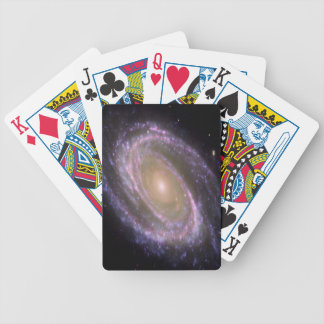 cool image with galaxi and stars poker deck