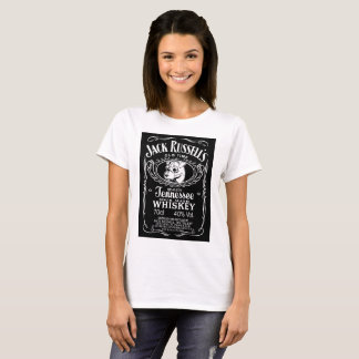 Cool Jack Russell womans t-shirt