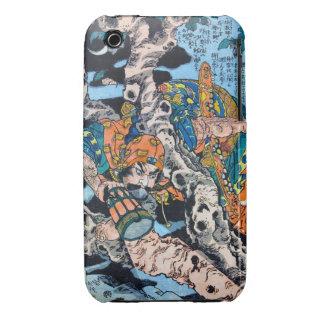Cool japanese Ancient Legendary Hero Warrior art Case-Mate iPhone 3 Case