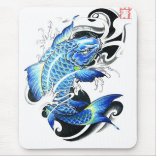 71d55d6df Japanese Koi Gifts Mouse Pads | Zazzle AU