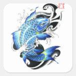 Cool Japanese Koi Fish Sticker