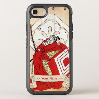 Cool japanese legendary hero samurai warrior art OtterBox symmetry iPhone 7 case