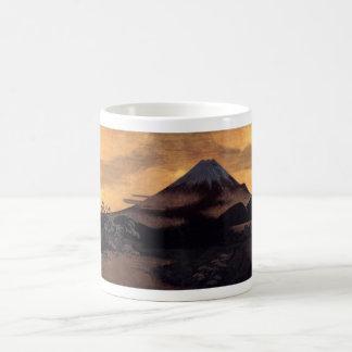 Cool japanese mountain Fuji sunshine scenery Coffee Mugs