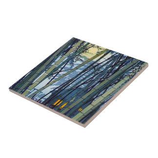 Cool japanese Shiro Kasamatsu Bamboo Early Summer Ceramic Tile
