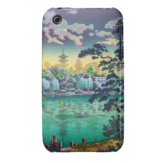 Cool japanese Ueno Shinobazu Pond Tsuchiya Koitsu iPhone 3 Cover