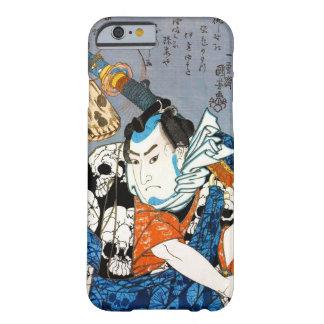 Cool japanese warrior hero samurai skull art iPhone 6 case