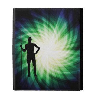 Cool Javelin Silhouette iPad Folio Case
