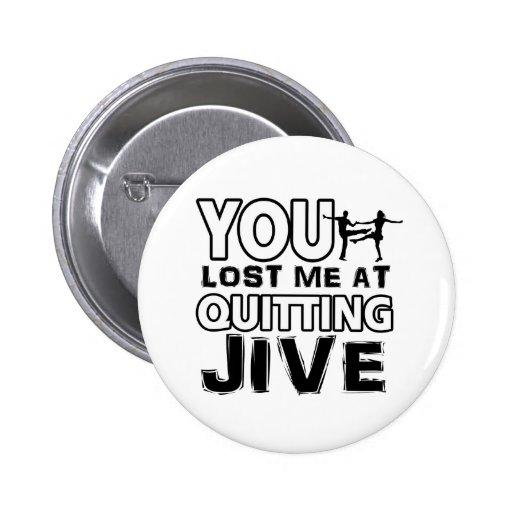 Cool Jive dance designs Buttons