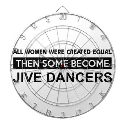 Cool Jive dancer designs Dartboards