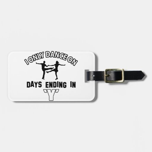 Cool jive designs bag tag