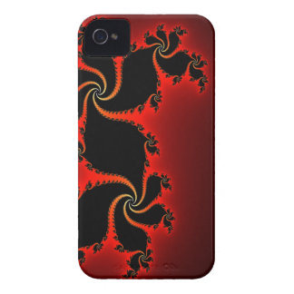 Cool Julia Fractal Mandelbrot Art iPhone 4 Case