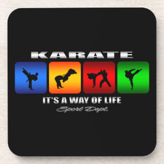 Cool Karate It Is A Way Of Life Coaster