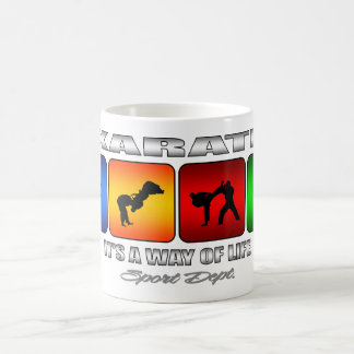 Cool Karate It Is A Way Of Life Coffee Mug